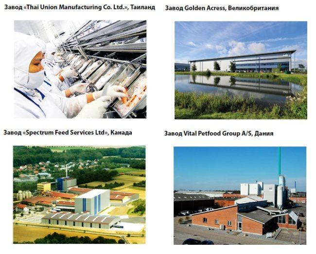Заводы компании Магна - производителя корма Gina
