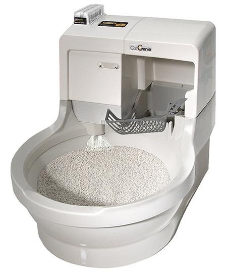 Полностью автоматический туалет марки Cat Genie 120