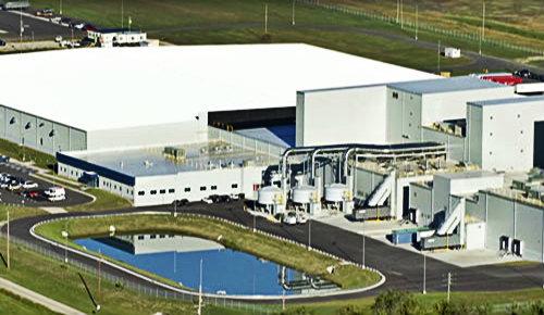 Завод по производству кормов Hills в Канзасе