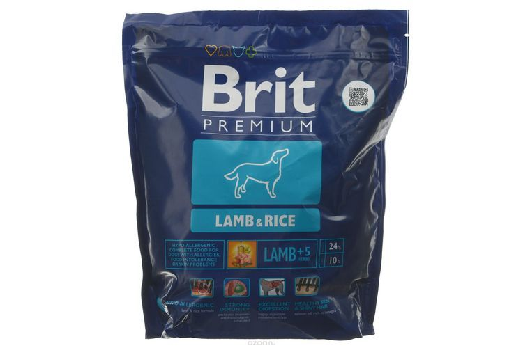 Гипоаллергенный корм Brit для собак