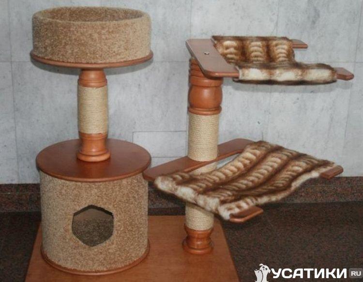 Конструкция для двух питомцев