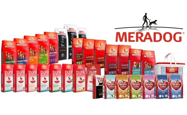 Ассортимент корма Meradog