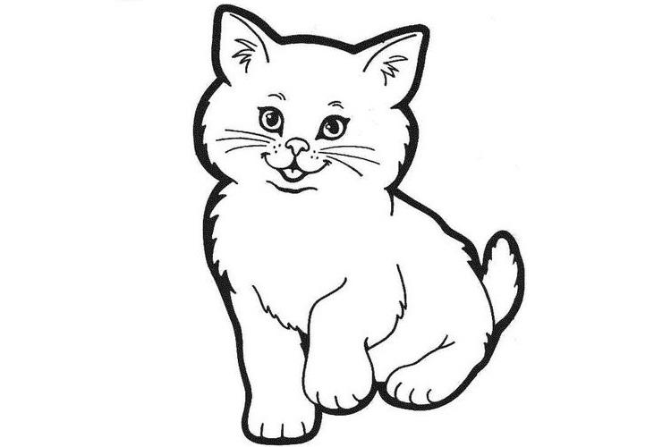 раскраска собаки и кошки для детей распечатать картинки