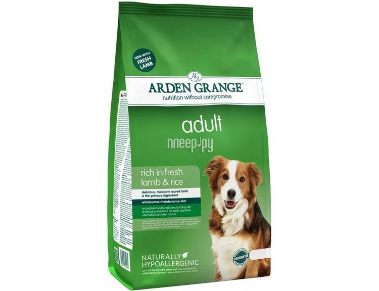 Корм для собак Arden Grange с ягненком и рисом