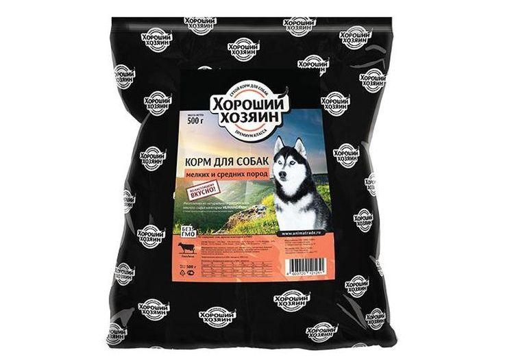 Сухой корм для собак Хороший хозяин