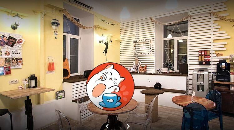 Кафе Котофейня Москва