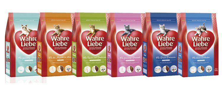 Wahre Liebe – корм для кошек