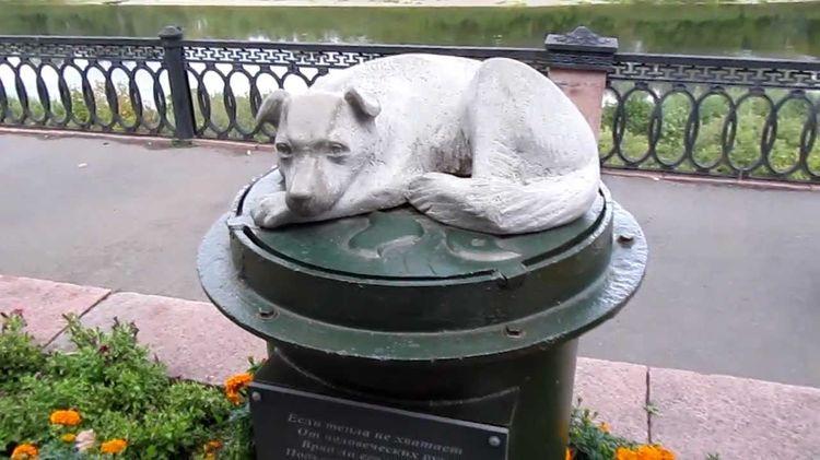 Памятник бездомной собаке (г. Кемерово)