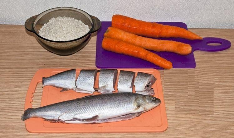 Приготовление рыбного блюда для кота