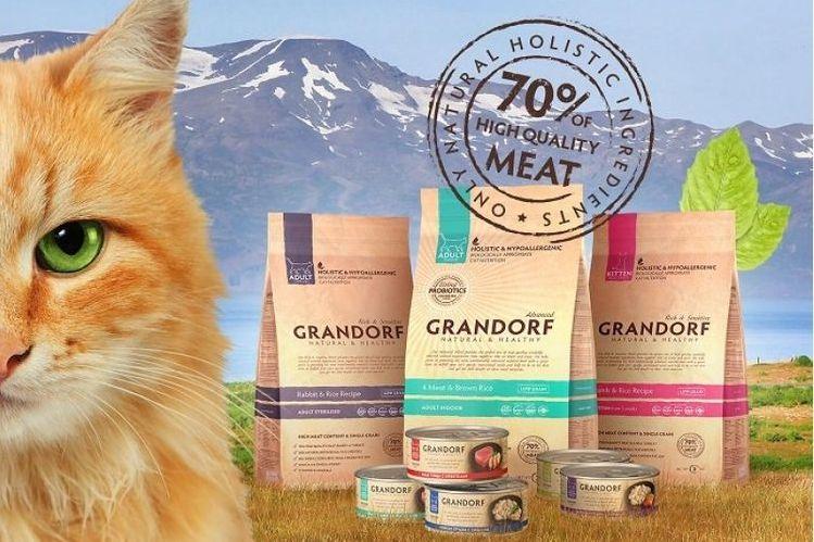 .корм для кошек Грандорф