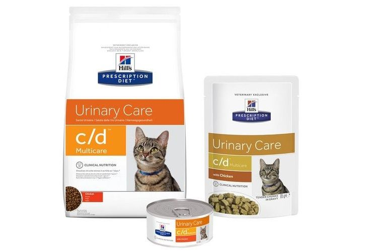 Корм для кошек Hill`s Prescription Diet Feline c/d при МКБ