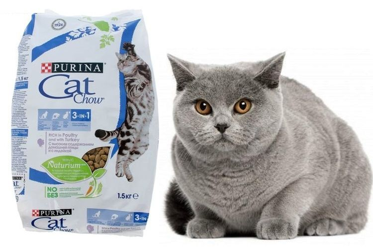 Корм для кошек Purina Cat Chow 3 in 1 при МКБ