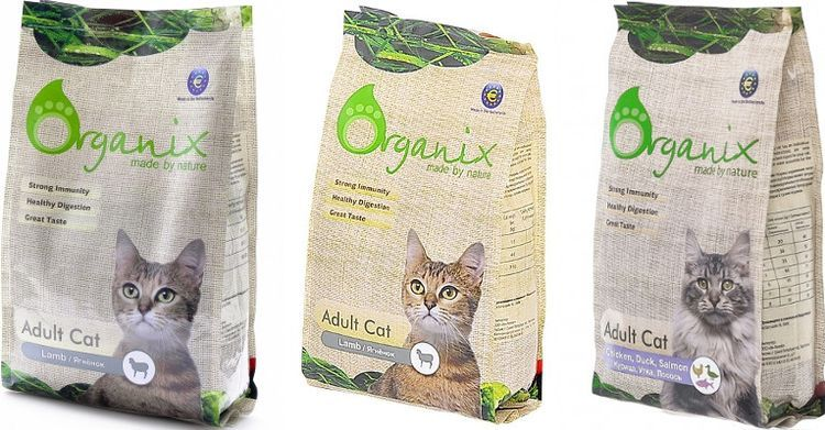 Сухой корм для кошек Органикс