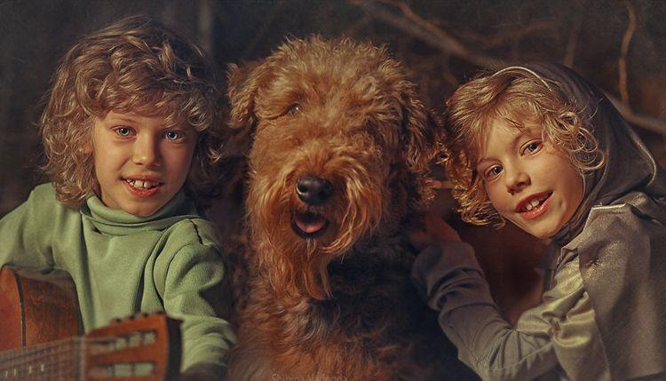 Собака из фильма Приключения Электроника