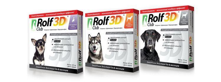 Ошейник Рольф Клаб 3Д для собак