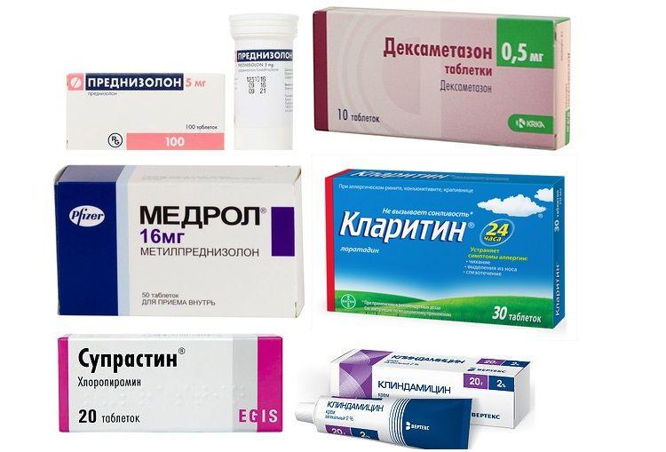 Препараты для лечения атопического дерматита у собак