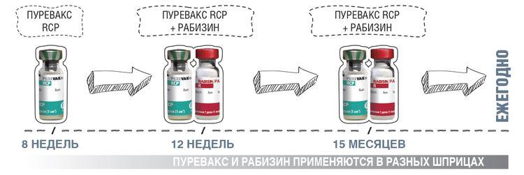 Пуревакс и Рабизин