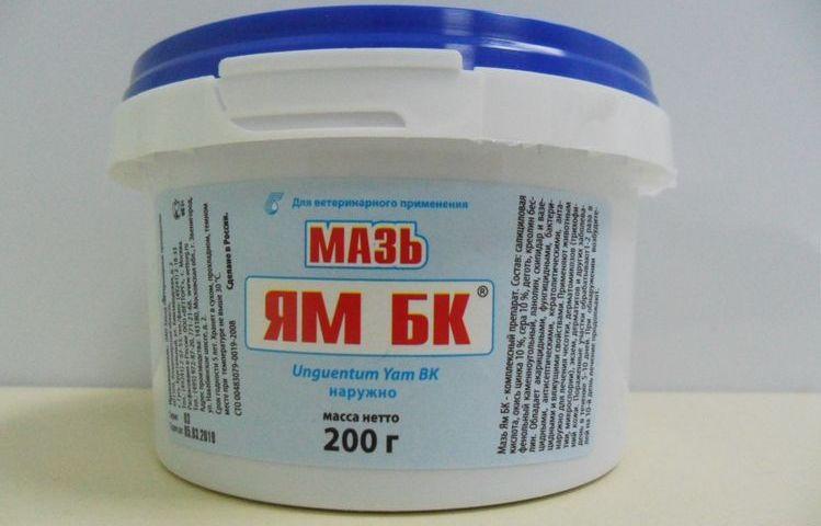 Мазь ЯМ БК