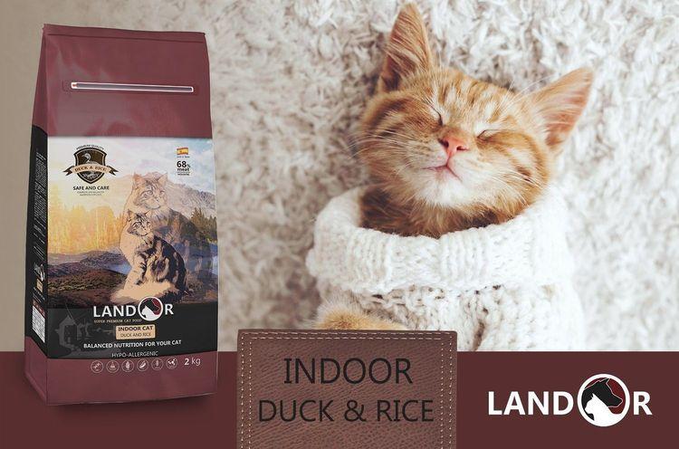 Корм для кошек Landor