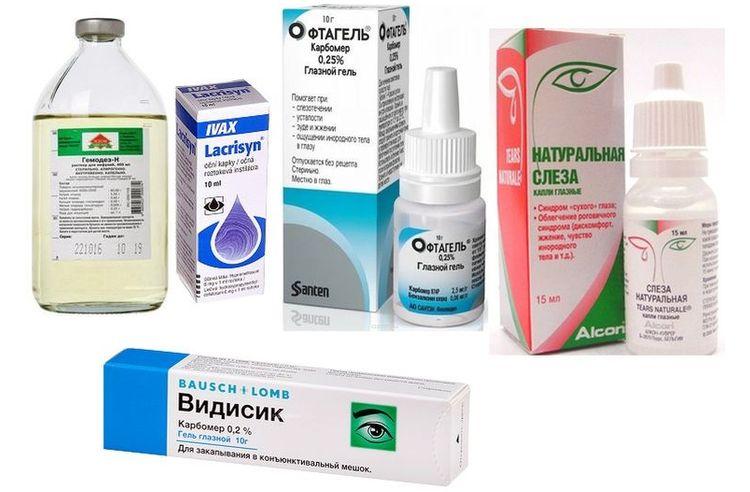 Препараты для лечения кератоконъюнктивита у собак