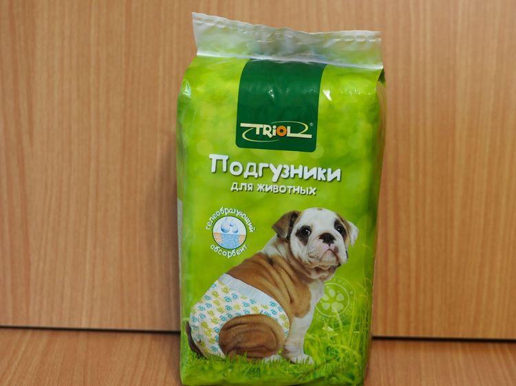 Памперсы для собак Triol