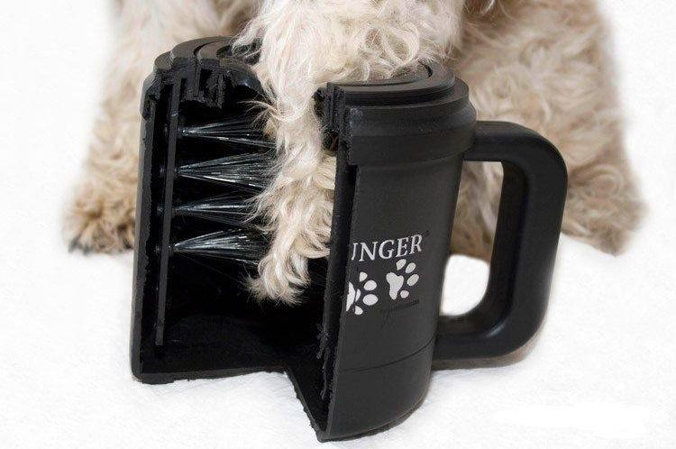 Кружка для мытья лап собакам