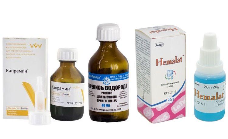 Аптечные кровоостанавливающие средства для собак