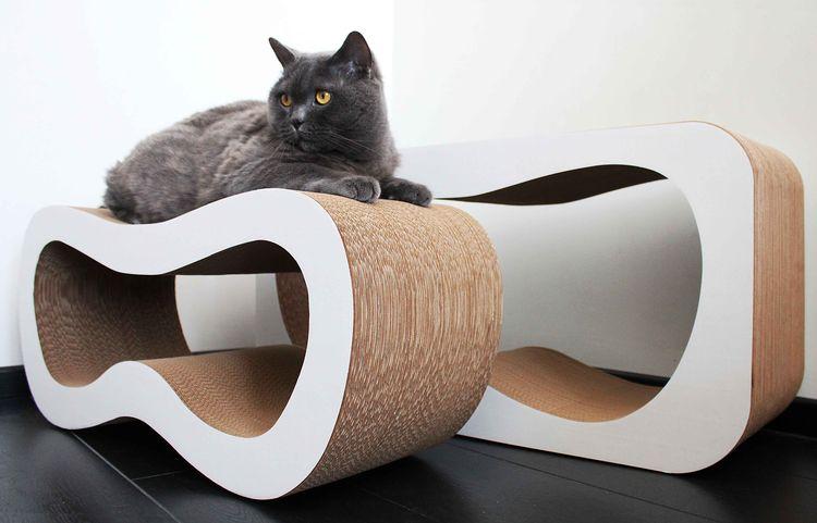 Картонная котгеточка для кошки