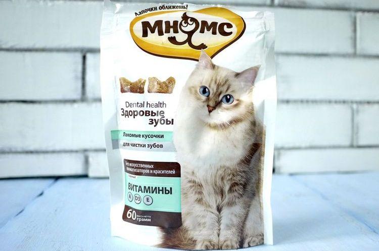 Лакомства для кошек Мнямс
