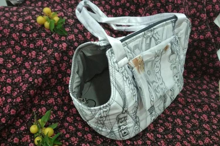 Мягкая сумка-переноска для кошек